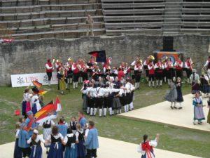 Abschlussveranstaltung 2008 in Martigny